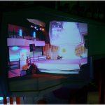High Contrast Screen Goo screen at Cyberia in Bangkok, Thailand