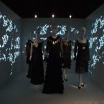 Screen Goo Rear Projection at Chanel Exhibition at Metropolitan Museum of Art in New York