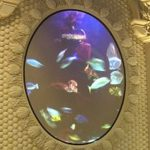 "Screen Goo projected ""Virtual Acquarium"" at Seahorse Bar at Caesar's Palace in Las Vegas"