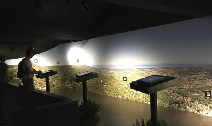 Myths and Legends Museum at Sintra, Portugal Uses Screen Goo US3D