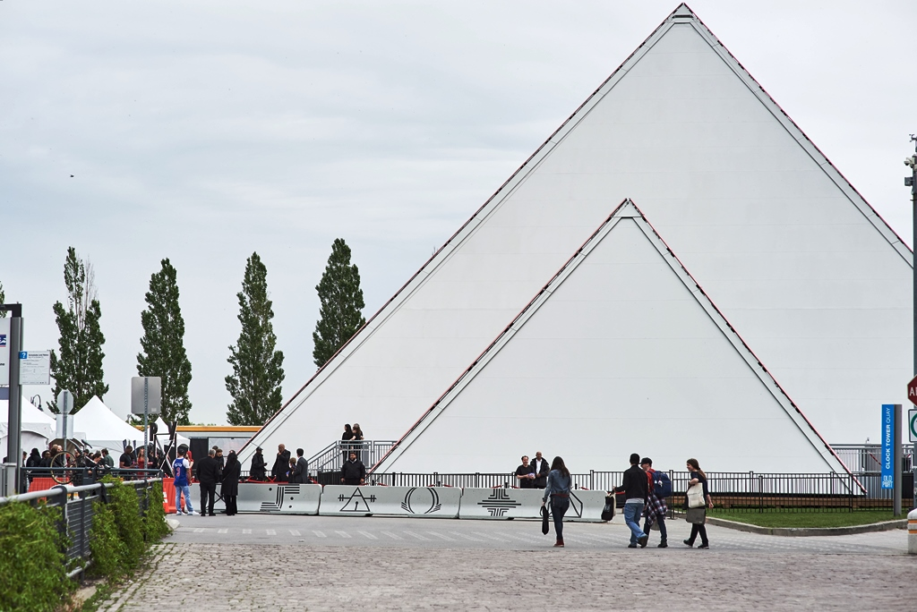 PY1 Pyramid External View