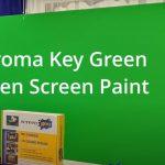 Screen Goo Chroma Key Green TV production system