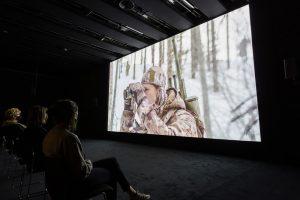 Installation view of Matthew Barney: Redoubt at Hayward Gallery, 2021. © Matthew Barney 2021. Photo: Mark Blower